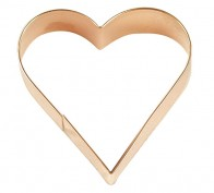 3″ Copper Heart Cookie Cutter – 2120