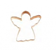 3″ Copper Angel Cookie Cutter – 2122