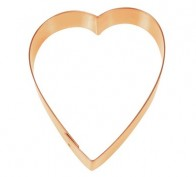 Copper Heart Cookie Cutter – 2128