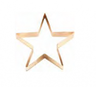 5″ Copper Star Cookie Cutter – 2134