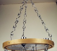 Round Ceiling Rack