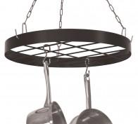 Black Round Pot Rack