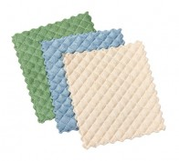 Quilted Dish Cloths (3pk) Green/Blue/Cream – 41380