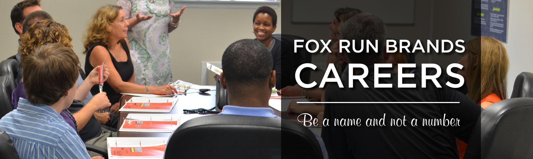 Careers Fox Run Brands Fox Run Brands